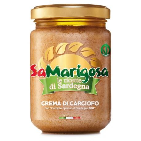 """Crema di Carciofo con """"Carciofo Spinoso di Sardegna D.O.P""""  Vaso 130 g"""