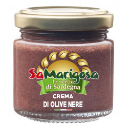 Black olive spread 90 g jar
