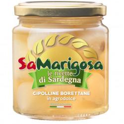 Bitter sweet Borettana cipollini 280 g jar