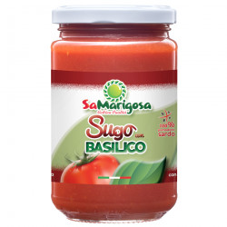 Ready tomato sauce with fresh basil 300 jar
