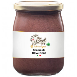 Black olive spread 500 g jar
