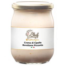 Crema di Cipolline Borettane Piccante Vaso 500 g