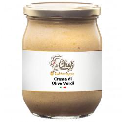 Crema di Olive Verdi 500 g