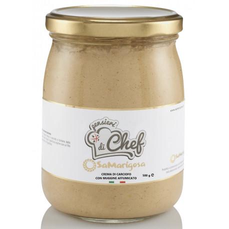 Crema di Carciofo e Muggine Affumicato Vaso 500 g