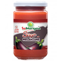 Ready tomato sauce with aubergine 300 jar