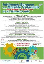 Settimana Europea della Mobilità Sostenibile 16-22 Settembre 2016