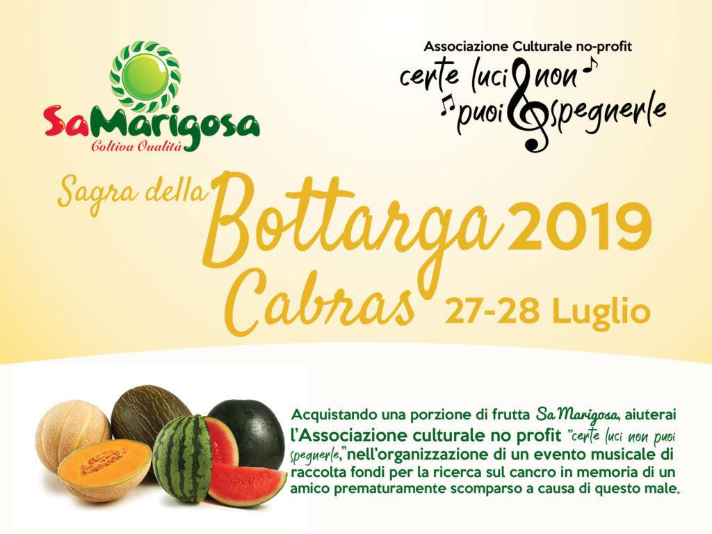 SAGRA DELLA BOTTARGA 27-28 LUGLIO 2019