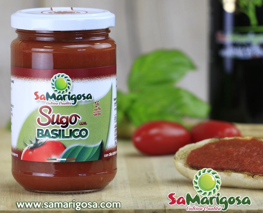 Novità: Sugo di Pomodoro con Basilico